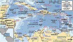 Caribbean Sea | Definition, Location, Map, Islands ...