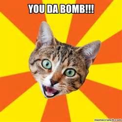 catty shirt you da bomb