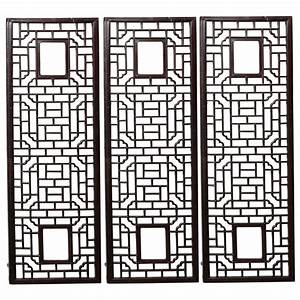 Chinese lattice wall panels at stdibs