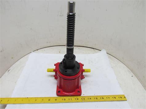 1 2.5 Ton Inch Worm Gear Ball Screw