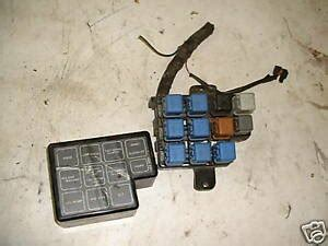 85 300zx Fuse Box by 1987 87 Nissan 300zx Fuse Box Wire Panel Relay System
