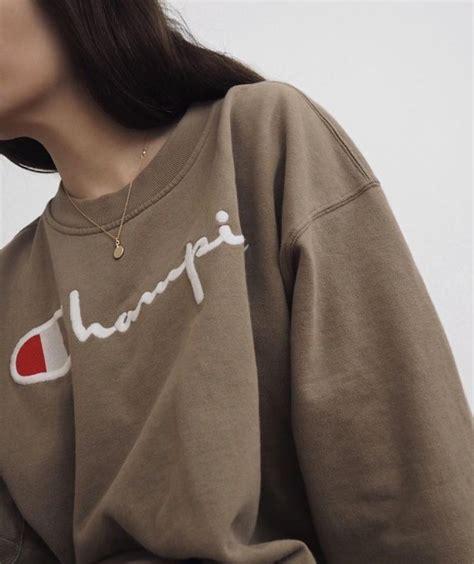 Les 20 meilleures idu00e9es de la catu00e9gorie Champion sweatshirt sur Pinterest | Vu00eatements de ...