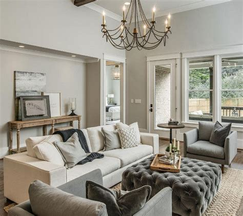 warm grey paint colors for living room