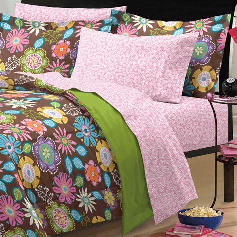 Bohemian Bedding Xl by New Boho Garden Bedding Comforter Sheet Set