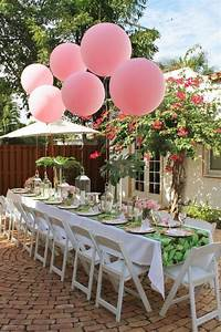 21 sweet balloon decorations for a bridal shower shelterness for Wedding shower balloons