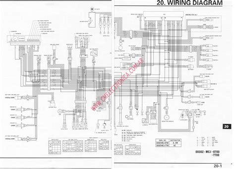 Yfm80 Wiring Diagram by 1998 F4i Wiring Diagram