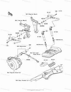 Kawasaki Motorcycle 2012 Oem Parts Diagram For Ignition