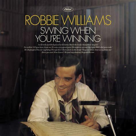 Robbie Williams Swing When You Re Winning dosya robbie williams swing when you re winning cd