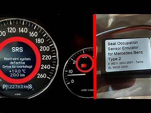 Effacer Defaut Srs Mercedes : solution error srs restraint system defective on mercedes removing srs error mercedes w211 ~ Melissatoandfro.com Idées de Décoration