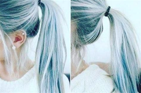 denim hair   latest hair color trend