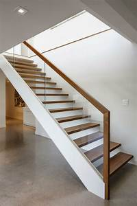 40 Stair Railings Of Glass – Airy Feel In The Interior