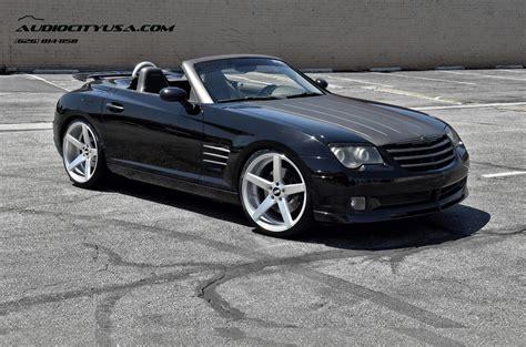 Custom Chrysler Crossfire by Chrysler Crossfire Custom Wheels Str 607 20x9 0 Et Tire