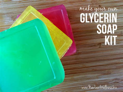 make your own soap make your own glycerin soap giveaway new leaf wellness