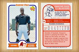 baseball card size template best professional templates With baseball card size template