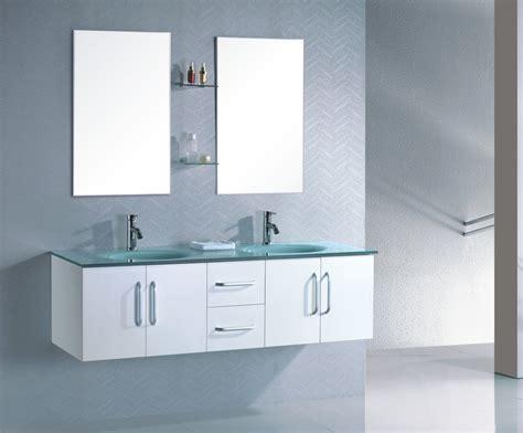 meuble salle de bain suspendu weng 233 vasque en verre tremp 233