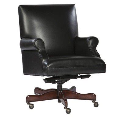 leather executive office chair color black office