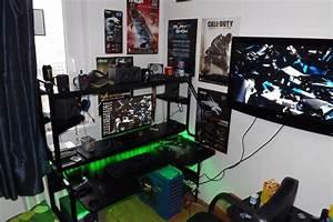 Gaming Paradies 17 Ideen Fr Gaming Schreibtisch