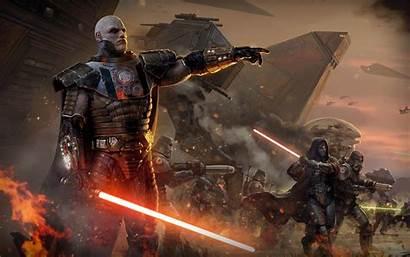 Wars Republic Star Lightsaber War Artwork Battle