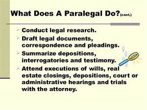 Project paralegal slide show for Legal document assistant courses