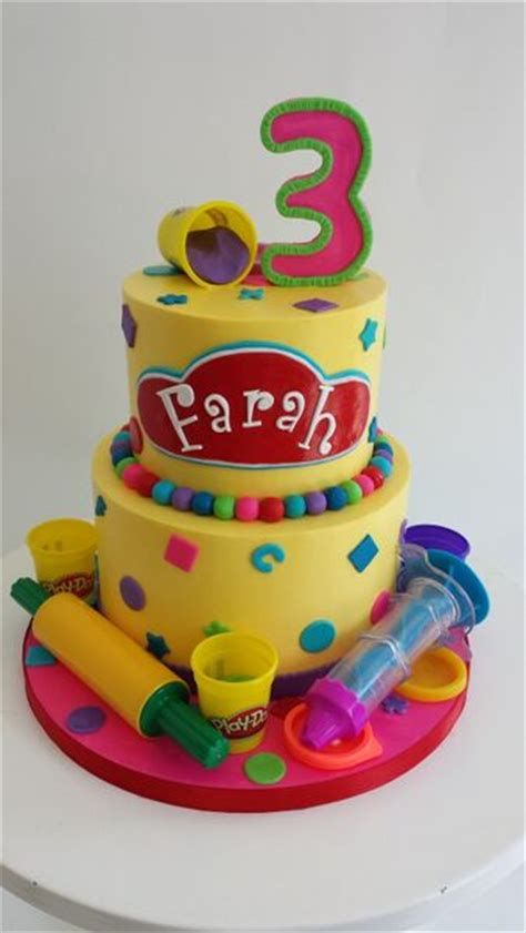 play doh cake birthday cakes for fluffy thoughts cakes mclean 6639
