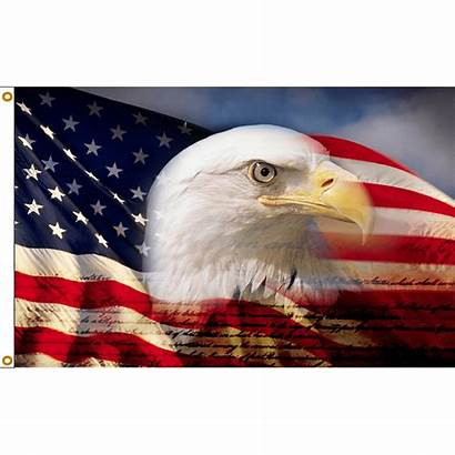 Eagle Flag American Patriotic Bald Flags Boutique