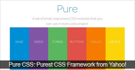 overview on the responsive css framework by yahoo