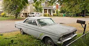 Old Parked Cars   1964 Ford Falcon Futura