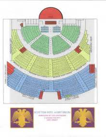 Scottish Rite Auditorium Collingswood NJ Seating-Chart
