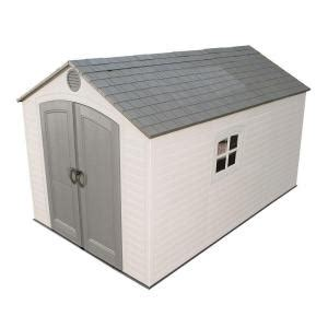 lifetime products gable storage shed 6402 1000 images about project backyard on