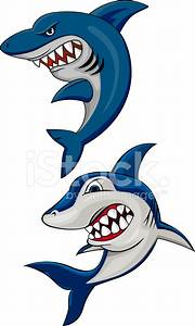 Angry Shark Cartoon Stock Vector - FreeImages.com