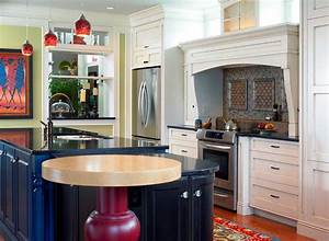 9 eclectic kitchen design tips for the creative homeowner for Kitchen decorating ideas for the kitchen island
