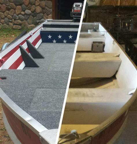 jon boat deck aluminum aluminum boat fishing conversation and restoration