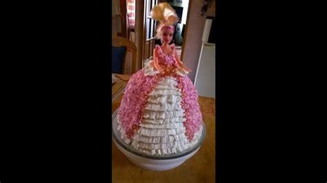 barbie cake barbi torta youtube
