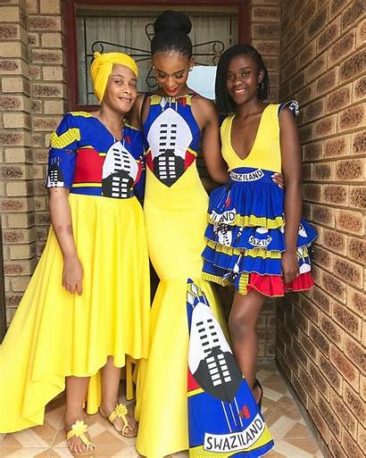 Swaziland Mbali Dlamini Yellow Lindo Gives Magic