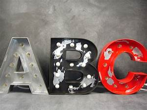 hand crafted 12 inch vintage marquee letters by virago With 12 inch marquee letters