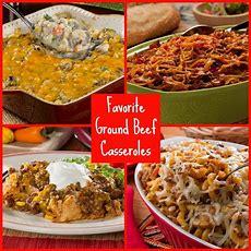 Favorite Ground Beef Casserole Recipes Mrfoodcom