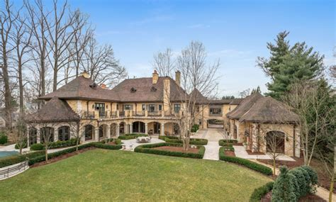 million  square foot french country mansion