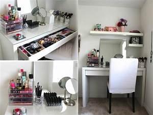 Rangement De Maquillage : 52 id es de rangement make up en photos et vid os ~ Melissatoandfro.com Idées de Décoration