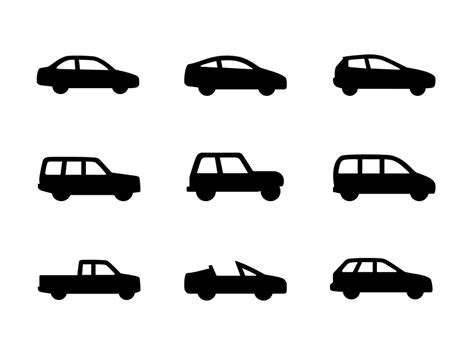 Car Icons By Laura Beggs