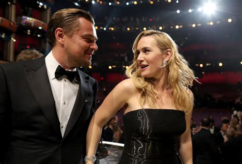 Kate Winslet Quotes About Leonardo Dicaprio In Glamour