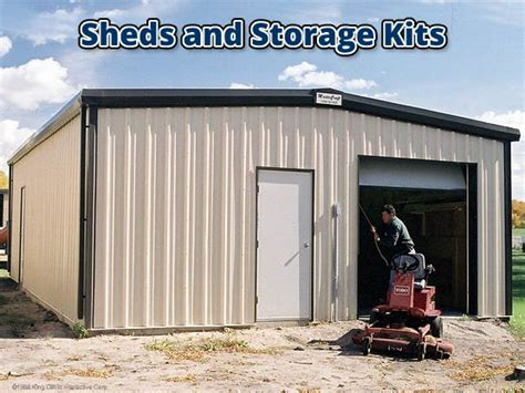 Metal Storage Shed Kits by Oko Bi March 2015