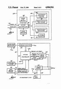 Patent Us4904916 - Electrical Control System For Stairway Wheelchair Lift