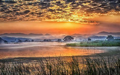 Sunrise Landscape Photography Early Morning Swamp ...