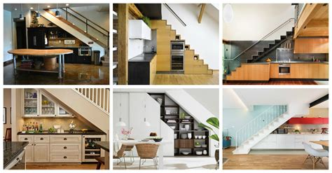 kitchen stairs design 19 space saving stairs kitchens you need to see 6355