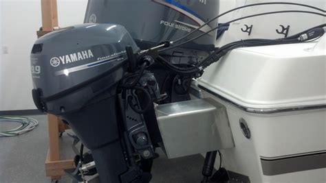 Used Outboard Kicker Motors For Sale by What S The Best Setup For A Kicker Motor The Hull