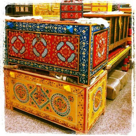 handpainted indian furniture  accessories