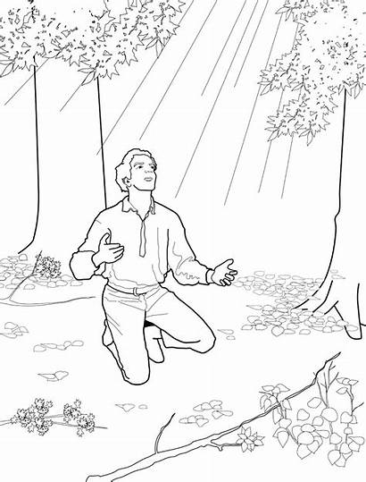 Lds Vision Joseph Smith Coloring Primary Pages