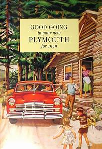 1946-1954 Plymouth Repair Shop Manual Original