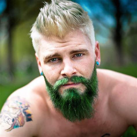 Merman Beard: Men Are Dyeing Their Hair With Vivid Colors