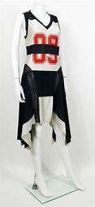 jean paul gaultier vintage basketball jersey dress for